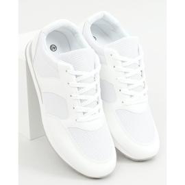 Buty sportowe damskie białe SC27H White 1