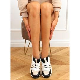Buty sportowe wielokolorowe 5315 BLACK/BEIGE beżowy czarne 2