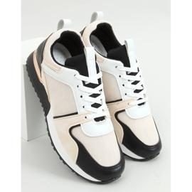 Buty sportowe wielokolorowe 5315 BLACK/BEIGE beżowy czarne 1