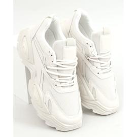 Buty sportowe beżowe LA182 Beige beżowy 1
