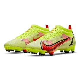 Buty piłkarskie Nike Mercurial Vapor 14 Pro Fg M CU5693-760 wielokolorowe żółte 1