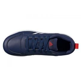 Buty adidas Tensaur Jr S24035 granatowe 4