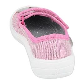 Befado obuwie dziecięce 208X045 różowe 3