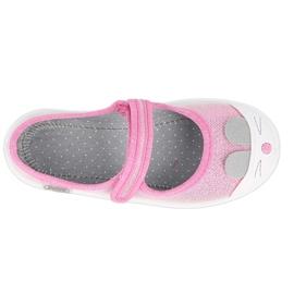 Befado obuwie dziecięce 208X045 różowe 4