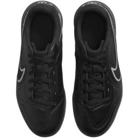 Buty piłkarskie Nike Tiempo Legend 9 Club Jr Ic DA1332 004 czarne czarne 1