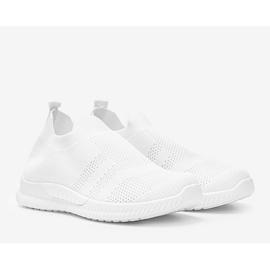 Białe sportowe obuwie slip-on Infinity 2