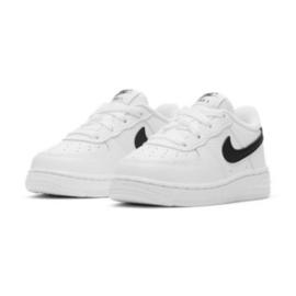 Buty Nike Force 1 Inf Jr CZ1691-100 białe czarne 2