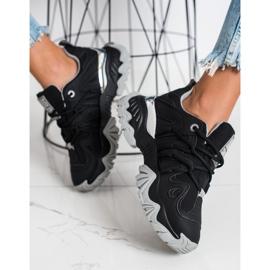 Sneakersy Damskie Big Star II274089906 czarne 1