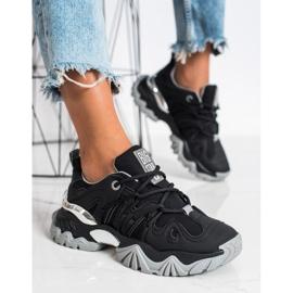 Sneakersy Damskie Big Star II274089906 czarne 3