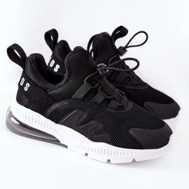 Dziecięce Sportowe Buty Sneakersy ABCKIDS Czarne 2