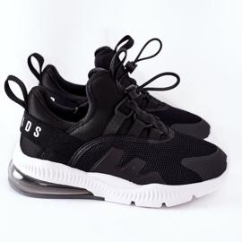 Dziecięce Sportowe Buty Sneakersy ABCKIDS Czarne 3