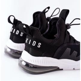 Dziecięce Sportowe Buty Sneakersy ABCKIDS Czarne 4