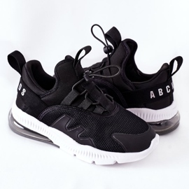 Dziecięce Sportowe Buty Sneakersy ABCKIDS Czarne 6
