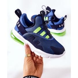 Dziecięce Sportowe Buty Sneakersy ABCKIDS Niebieskie 1