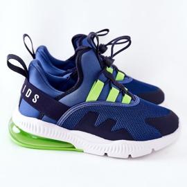 Dziecięce Sportowe Buty Sneakersy ABCKIDS Niebieskie 3