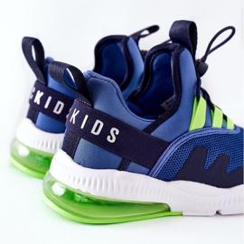 Dziecięce Sportowe Buty Sneakersy ABCKIDS Niebieskie 4