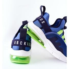 Dziecięce Sportowe Buty Sneakersy ABCKIDS Niebieskie 5