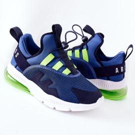 Dziecięce Sportowe Buty Sneakersy ABCKIDS Niebieskie 6