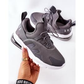 Dziecięce Sportowe Buty Sneakersy ABCKIDS Szare 6