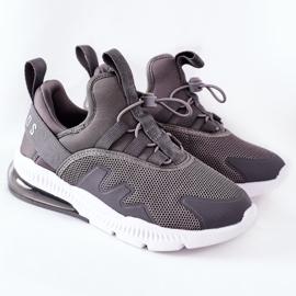 Dziecięce Sportowe Buty Sneakersy ABCKIDS Szare 2