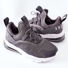 Dziecięce Sportowe Buty Sneakersy ABCKIDS Szare 1