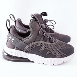 Dziecięce Sportowe Buty Sneakersy ABCKIDS Szare 3