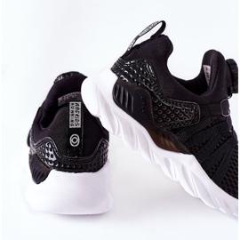 Dziecięce Sportowe Buty Z Pokrętłem ABCKIDS Czarne 1
