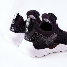 Dziecięce Sportowe Buty Z Pokrętłem ABCKIDS Czarne 4
