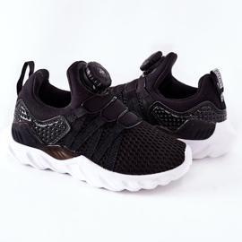 Dziecięce Sportowe Buty Z Pokrętłem ABCKIDS Czarne 5