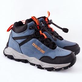 Dziecięce Buty Trekkingowe Big Star GG374048 Granatowe niebieskie 2
