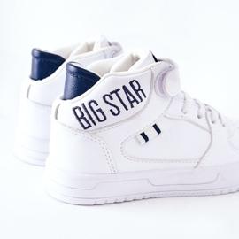 Dziecięce Sportowe Buty Big Star II374034 Biało-Granatowe białe 6