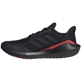 Buty do biegania adidas EQ21 Run Jr GV9937 czarne 1