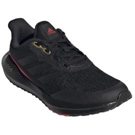 Buty do biegania adidas EQ21 Run Jr GV9937 czarne 2