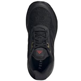 Buty do biegania adidas EQ21 Run Jr GV9937 czarne 3