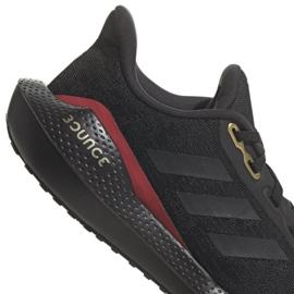 Buty do biegania adidas EQ21 Run Jr GV9937 czarne 4