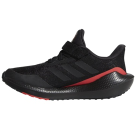Buty do biegania adidas EQ21 Run El K Jr GZ5399 czarne 2