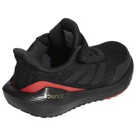 Buty do biegania adidas EQ21 Run El K Jr GZ5399 czarne 3