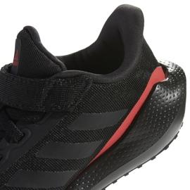 Buty do biegania adidas EQ21 Run El K Jr GZ5399 czarne 5