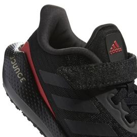 Buty do biegania adidas EQ21 Run El K Jr GZ5399 czarne 6