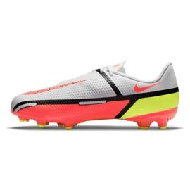 Buty piłkarskie Nike Phantom GT2 Academy FG/MG Jr DC0812-167 wielokolorowe białe 1