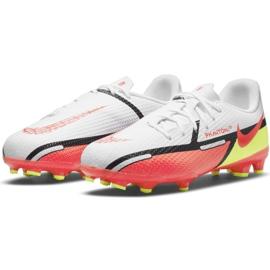 Buty piłkarskie Nike Phantom GT2 Academy FG/MG Jr DC0812-167 wielokolorowe białe 2