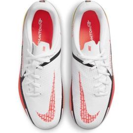 Buty piłkarskie Nike Phantom GT2 Academy FG/MG Jr DC0812-167 wielokolorowe białe 3