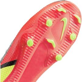 Buty piłkarskie Nike Phantom GT2 Academy FG/MG Jr DC0812-167 wielokolorowe białe 4