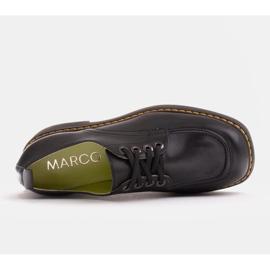 Marco Shoes Mokasyny Chiara ze skóry przecieranej czarne 6