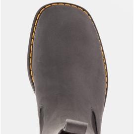 Marco Shoes Glany Greta z elastyczną gumą szare 7