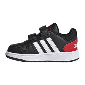 Buty adidas Hoops 2.0 Cmf I Jr FY9444 czarne 1