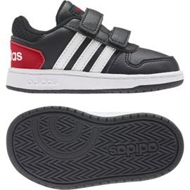Buty adidas Hoops 2.0 Cmf I Jr FY9444 czarne 2