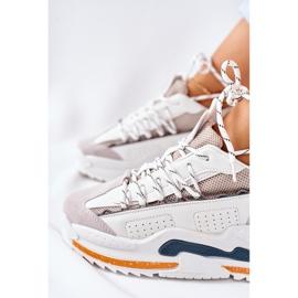 PS1 Damskie Sportowe Buty Sneakersy Białe Aland 1