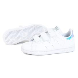 Buty adidas Stan Smith Cf C Jr FX7539 białe 1