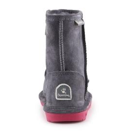 Buty zimowe BearPaw Emma Toddler Zipper Jr 608TZ-903 Charcoal Pomberry granatowe 5